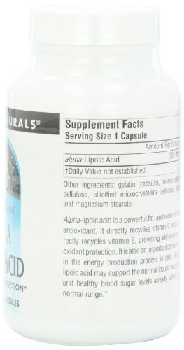 Source Naturals Alpha Lipoic Acid Antioxidant Protection 300mg - 120 Capsules by Source Naturals (Image #4)