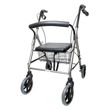 Andador para ancianos plegable con empuñaduras ergonómicas ...