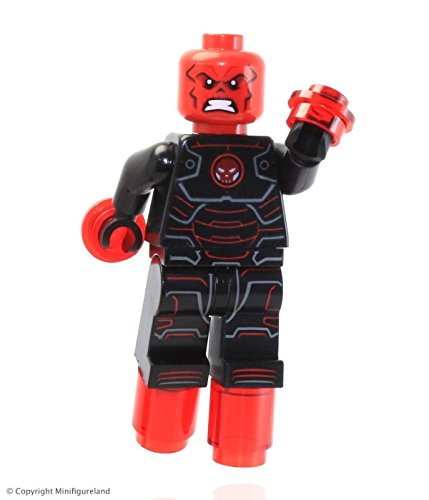 LEGO Marvel Superheros Loose Minifigure Hydra Leader Iron Skull Red Skull Figure Set