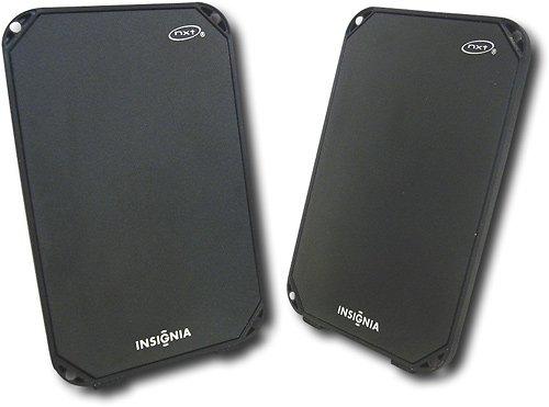 Insignia Flat-Panel Portable USB Speakers (2-Piece) - NS-PLTPSP (Insignia Usb Speakers)
