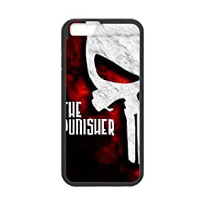 Protection Cover Banys iPhone 6s Plus 5.5 Inch Cell Phone Case Black The Punisher Personalized Durable Cases