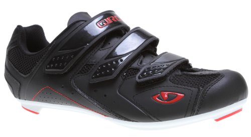 Giro Treble Bike Shoes Black/White/Red Mens Sz 10.5 (44)