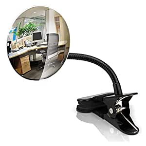 kiloxa flexible 4 office desk mirror clip increases personal safety security. Black Bedroom Furniture Sets. Home Design Ideas