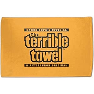 Myron Copes Official Pittsburgh Steelers Terrible Towel at Steeler Mania