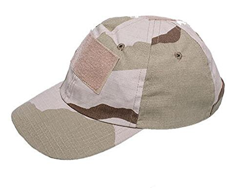 YFY-MZ Outdoor Python pattern Camo Hat soldier Hat baseball caps (Tri-Color Desert)