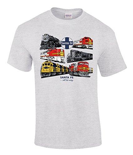 Santa Fe All The Way Authentic Railroad T-Shirt Kids Small (6-8) [56]