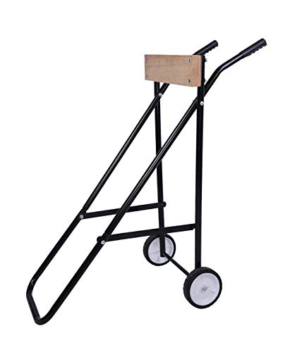 LEADALLWAY 220lb Outboard Boat Motor Stand Display Carrier Cart Dolly Storage for Maximum 30 HP Small to Medium Boat Engine
