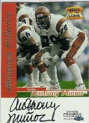 1999 Sports Illustrated Autographs #23 Anthony Munoz Near Mint/Mint 1999 Sports Illustrated Autographs