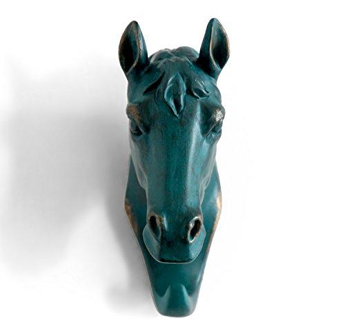 Herngee Horse Head Single Wall Hook Hanger Animal Shaped