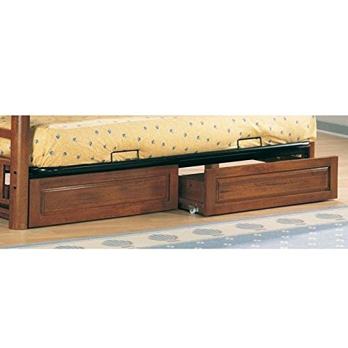 Coaster Home Furnishings Traditional Under Drawer Set, Oak