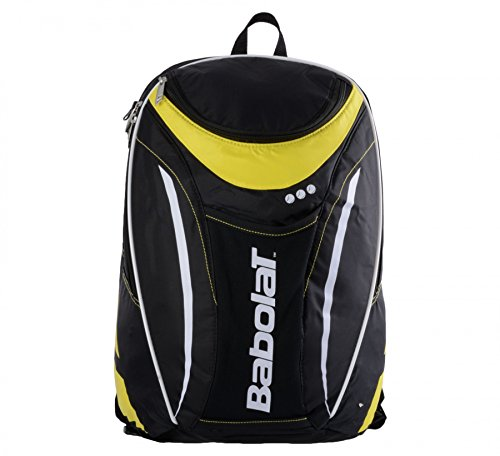 Babolat Club Line Backpack, Black/Yellow, One Size