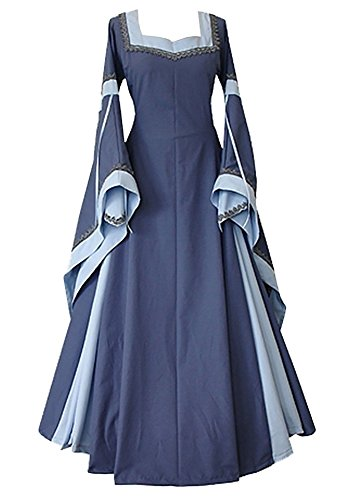 BBalizko Renaissance Medieval Irish Costume Over Dress Medieval Dress Gothic Dress
