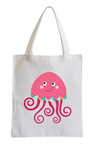 Raxxpurl dolcezza meduse Fun sacchetto di iuta