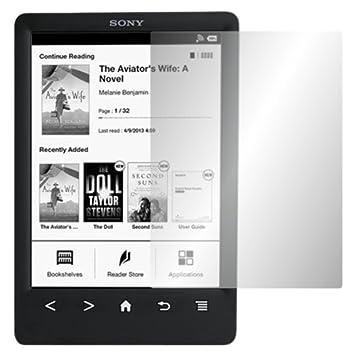 Slabo 2 x Protector de Pantalla para Sony Reader PRS-T3 lámina de ...