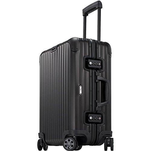 Rimowa Topas Stealth IATA Luggage 22″ inch Multiwheel 45.0 L Matte Black
