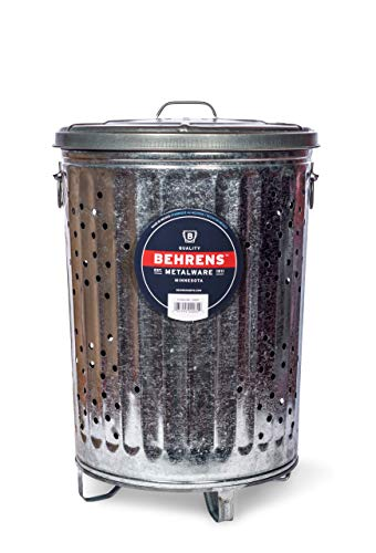 Behrens Manufacturing RB20 Composter Trash Can, 20 gal from Behrens Manufacturing