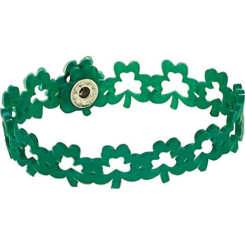 HollyDel Shamrock BraceletSt. Patricks Day Costumes and Accessories Green -