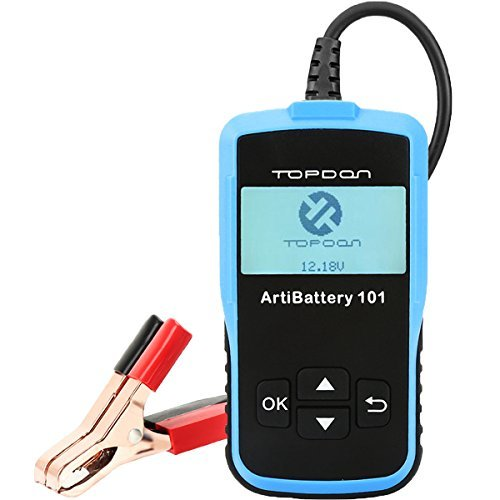 TT TOPDON AB101 Automotive Battery Tester on Cranking System, Charging System and Battery Load test...