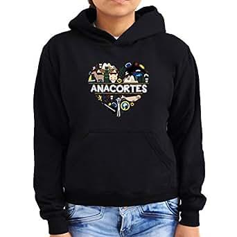 I love Anacortes, Washington Women Hoodie