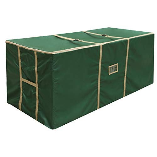 YHCGRE Large Christmas Tree Storage Bag with Carry Handles Extreme Heavy Duty Bag for Storing Large Artificial Xmas Tree and Decorations for Trees up to 9 Feets 59''x 24'' x 24''