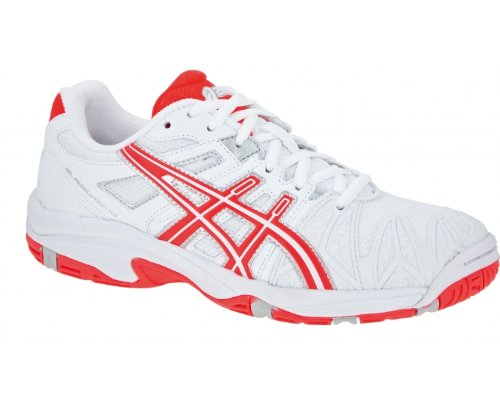 ASICS Gel-Resolution OC GS Zapatilla de Tenis Junior Blanco / Coral