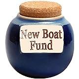 Money Jar - New Boat Fund Piggy Bank