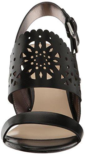 Nine West Vrouwen Radhuni Lederen Kleding Sandaal Zwart