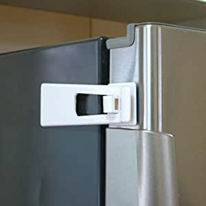 Amazon Com Refrigerator Fridge Freezer Door Latch Lock