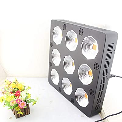 Caige Grow Lights for Indoor Plants, Indoor Plants, LED Plant Growth Lights, 216W Spectrum for Indoor Plant Growth Flowering Results,Black: Home & Kitchen
