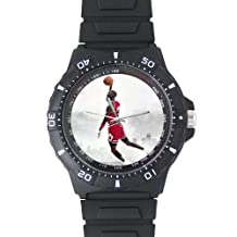 Michael Jordan Custom Unisex Plastic Watch