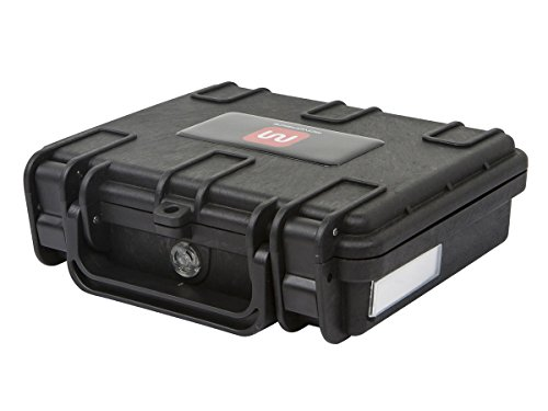 Monoprice Weatherproof Hard Case with Customizable Foam, 7