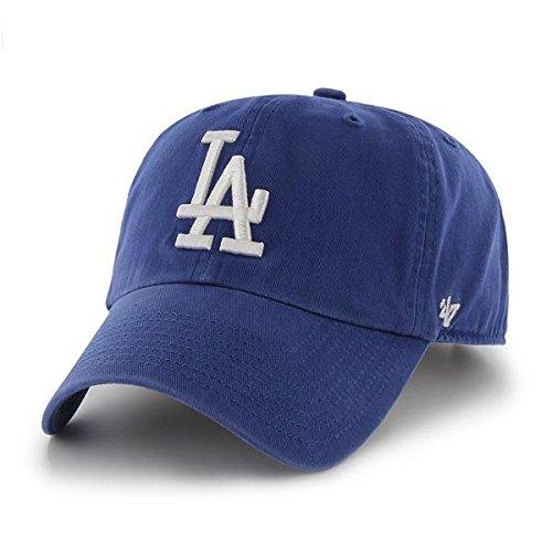7073898d2db  47 Brand Los Angeles LA Dodgers Clean Up Dad Hat Cap