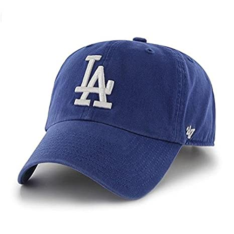 check out 6adc0 d8e4c Los Angeles Dodgers Cleanup Adjustable Hat by  47 Brand