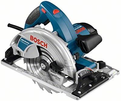 Bosch Professional GKS 65 GCE - Sierra circular (1800 W, Ø Disco 190 mm, velocidad variable, en caja)