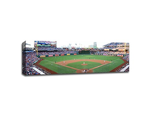 Citizens Bank Park MLB Canvas 48x16