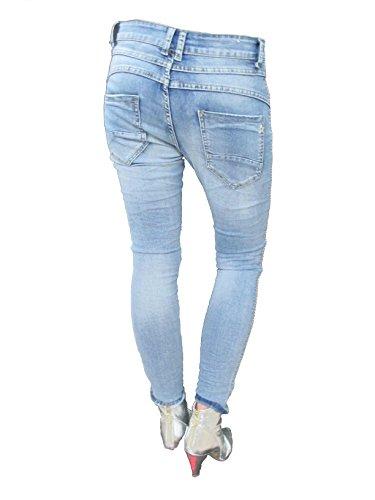 Boyfriend Jeans Denim Lexxury by Jewelly Femme qfw4pt7