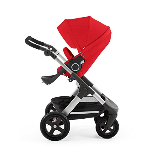 Stokke Trailz with Terrain Wheels - Red