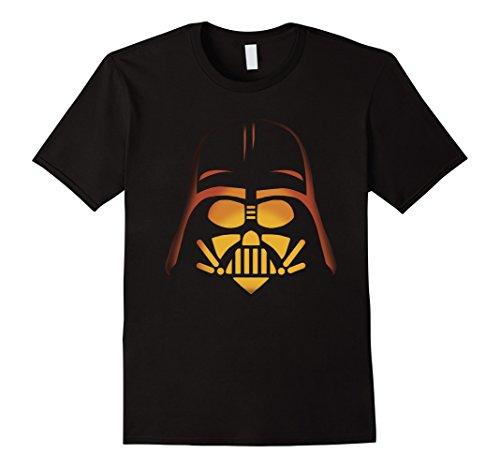 Mens Star Wars Darth Vader Pumpkin Carving Halloween T-Shirt 2XL (Darth Vader Pumpkin Carving)