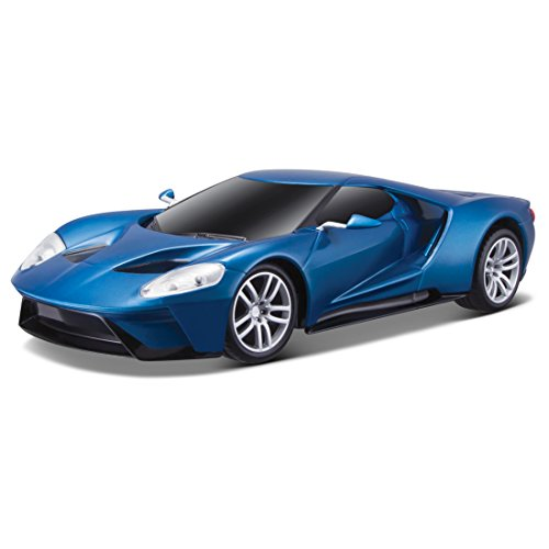 Maisto R/C 1:24 Scale 2017 Ford GT NAIAS Variable Color Radio Control Vehicle (Colors May Vary)