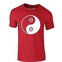 Brand88 Balance of Power, Adults Printed T-Shirt
