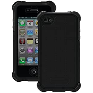 BALLISTIC Product-BALLISTIC SX0907-M005 iPhone 4/4S SG MAXX Series Case (Black/Black)