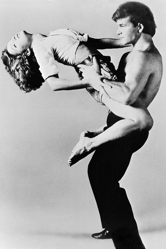 Dirty Dancing Patrick Swayze Jennifer Grey Poster