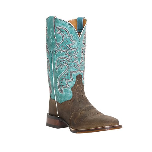 """Dan Post Boots Women's Cowgirl Certified 11"""" San Michelle DP2863,Tan Mad Cat,US 6 M"""