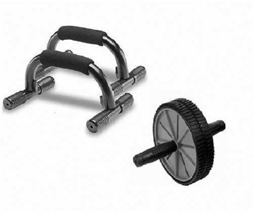 Push-Up-Bar und ab Wheel Set
