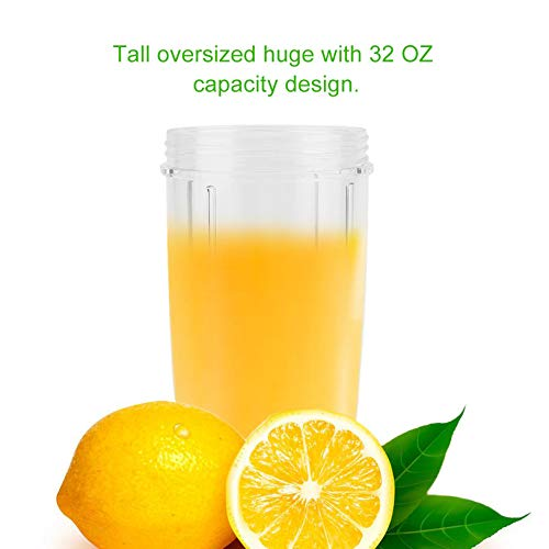 32 OZ Juicer Blender Mixer Mug Cup Water Bottle Shaker Blender Outdoor Tour Sports Mixing Cup Bottle