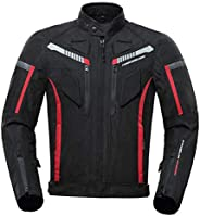 Jaqueta masculina de motociclista Homyl Armored, impermeável, para todos os climas, equipamento de proteção, 6