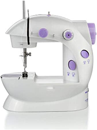 Máquina de coser portátil Mini multifunción máquina de coser ...