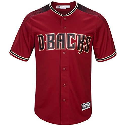 Outerstuff Zack Greinke Arizona Diamondbacks #21 Youth Cool Base Alternate Jersey Red (Youth Medium 10/12) ()