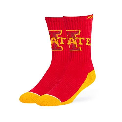 - OTS NCAA Iowa State Cyclones Anthem Sport Socks, Large, Red