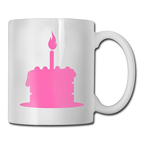 Pink Candle Personality Fashion Custom Coffee/ Tea (Personalized Personality Travel Candles)